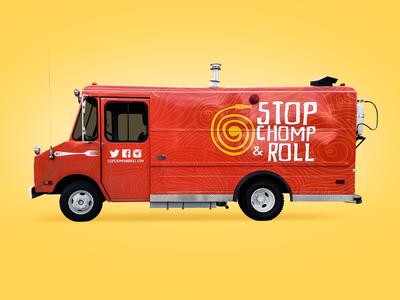 Stop, Chomp & Roll Branding
