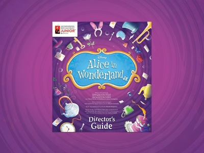 Alice in Wonderland JR. Branding