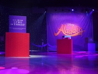 Aladdin JR. Branding + Exhibit