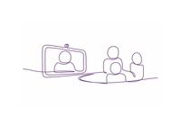 Telia Illustration People