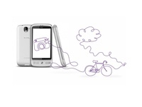 Telia illustration phone/bike