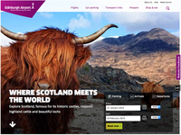Edinburgh Airport website
