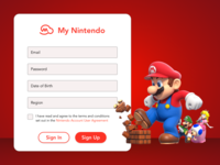 My Nintendo Sign Up