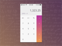 Daily UI; Calculator