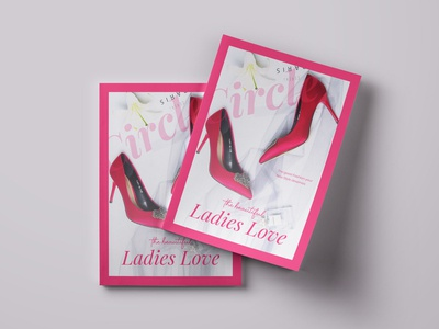 Ladies Love magazine design magagine vector illustration typography branding design