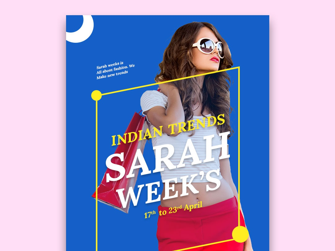 Indian Trends design branding instagram illustration typography
