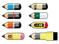 Pencil Stubs