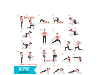 Fitness Illustrations