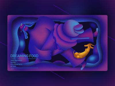 dreaming food