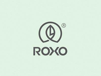 ROXO  roxo bratus jimmi tuan leaf logo branding brand identity logotype circle mark symbol vietnam
