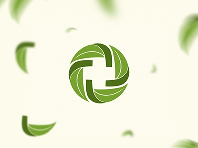 Lynnwood jimmi tuan leaf logo brand identity circle eco mark symbol vietnam medicine natural pharmacy