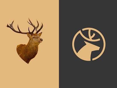 Dia Holdings  deer invesment animal logo concept financial vietnam ho chi minh symbol icon brand mark logo designer