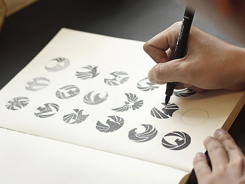 Logo Sketching By Bratus U2122 - Dribbble