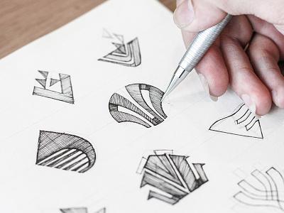 Vitrapex Logo Sketch logosketch sketch logo symbol bratus branding agency vietnam logomark