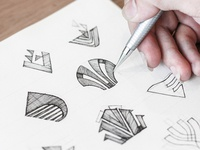 Vitrapex Logo Sketch