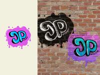 30 days logo challenge 22 - JP lettering