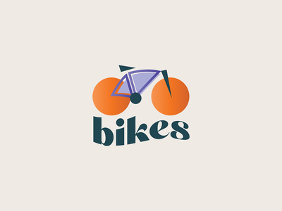 Logo challenge day 24 bike dailylogochallengeday24 illustration dailylogo dailylogochallenge vector logodesign logoconcept design logochallenge illustrator logo