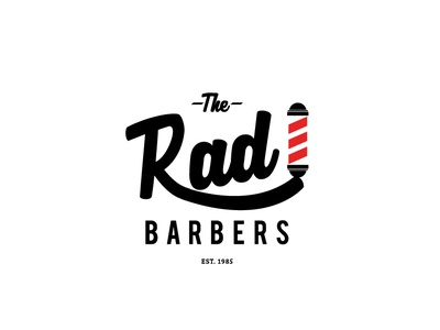 The Rad Barbers Logo