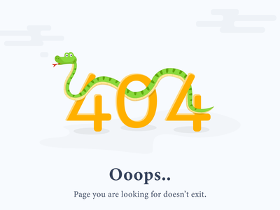 Website 404 Page Error webdesign ux ui web photoshop front-end development concept website design website design illustration adobe ilustrator