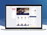 Sports App & Website Design