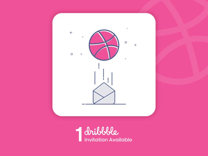 Free Invite to Dribbble for a talented designer designer draft get started dribbleinvite