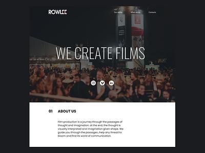 Rowlee Videos Landing landing web
