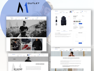 M1 OUTLET - brands men`s online store