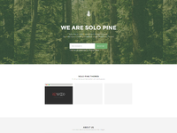Solopine homepage full