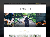 Hemlock Blog Theme