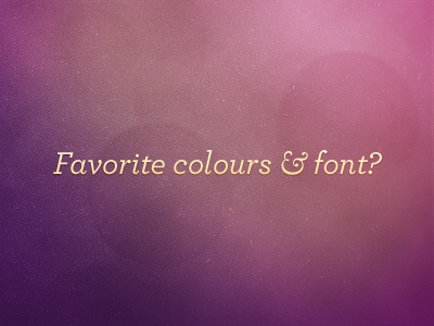 In love with... playoff purple texture light typography