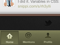 Twitter iOS Re-design