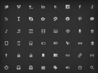 Nano Icon Set: Live
