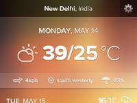 Weather app 4