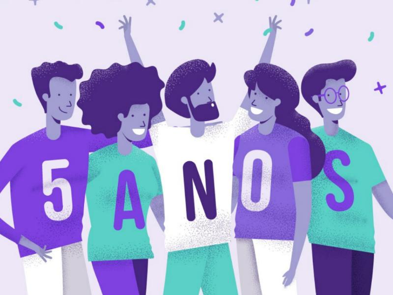 Agenda Edu 5 anos noise emotions character personas colors graphic design adobe illustrator vector art illustration