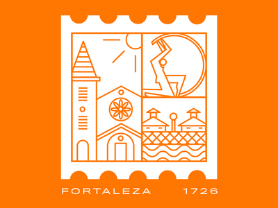 Week 01: Fortaleza sticker