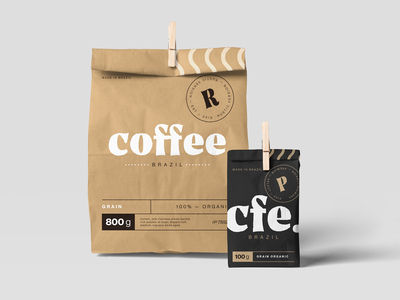 Week 08: Coffee packaging