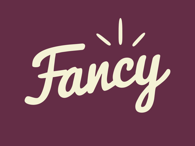 Fancy t-shirt (for block print) block print linocut tshirt typography fancy script
