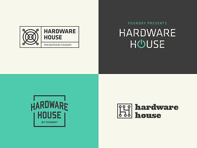 Hardware House house maker brand foundry sxsw event electronics hardware logo