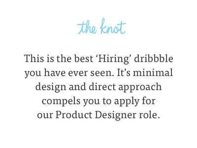 The Knot is hiring in Austin!