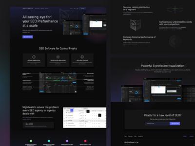 Nightwatch Website Redesign