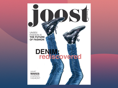 Cover Design for a Magazine Prototype: JOOST
