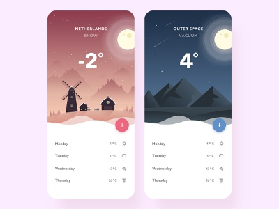 Brilliant brand illustrations weather app weather neumorphism vector design ux ui illustration flat app