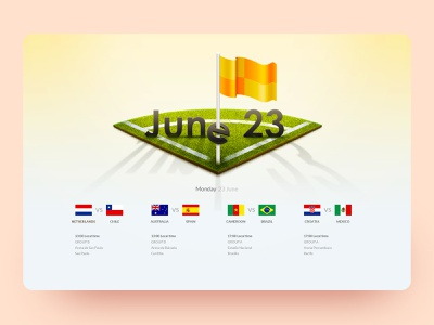Russia World Cup schedule wallpaper game football calendar national flag icon game design sports schedule desktop app flag football club desktop web designs app design neumorphism illustration ui