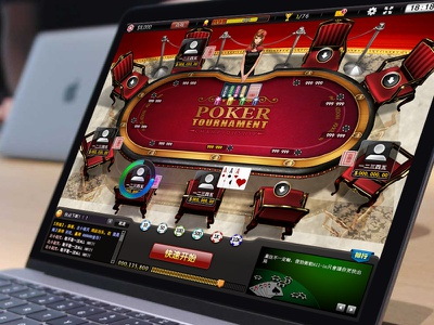 PC Texas poker web illustration icon game design game pc ui neumorphism design