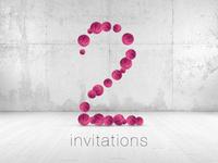 2 Invites for website designers