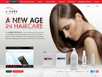 Hair Products website