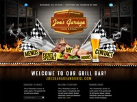 Homepage for Grill Bar