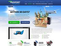 Passport Service website