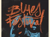 Baton Rouge Blues Festival Branding