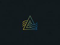 Golden Pass Logo Mark Exploration